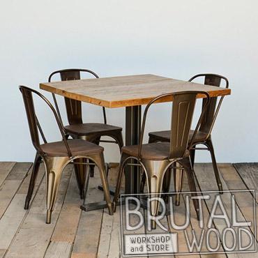 Стол для кафе в стиле лофт