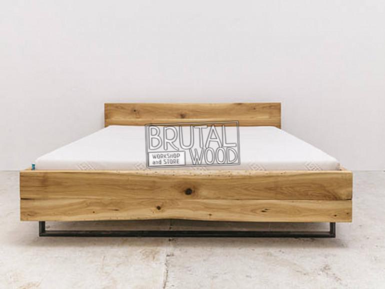 Кровать из слэбов
